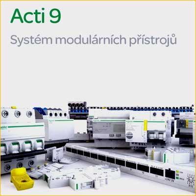 SCHNEIDER ELECTRIC: Katalog systému modulárních přístrojů ACTI 9