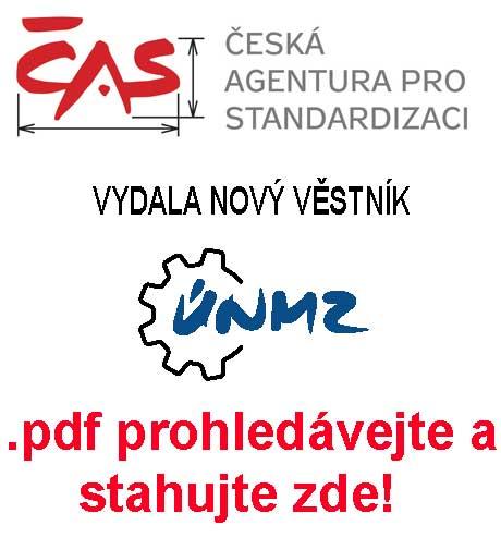 ČAS vydala aktuální věstník změn v ČSN pro leden 2021.