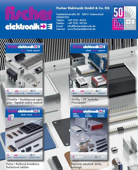 Katalog fischer elektronik Distribuce a výroba chladičů