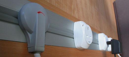 Elektrické lišty a mobilní zásuvky EUBIQ
