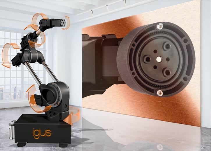 HENNLICH: Nová plastová hřídel pro šestiosé roboty