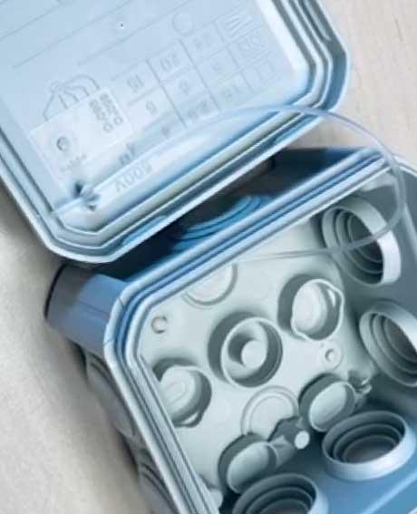 Jaké existují elektroinstalační krabice OBO podle účelu?