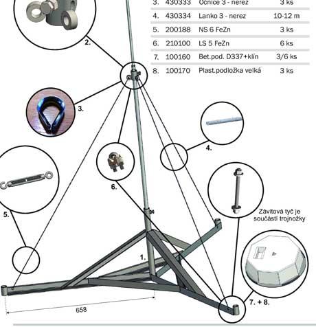 Katalog DT TECHNIC součásti hromosvodů 2021