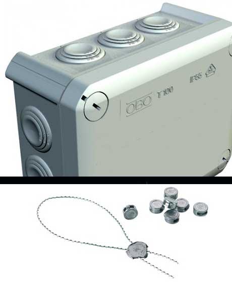 Lze elektroinstalační krabici zaplombovat?