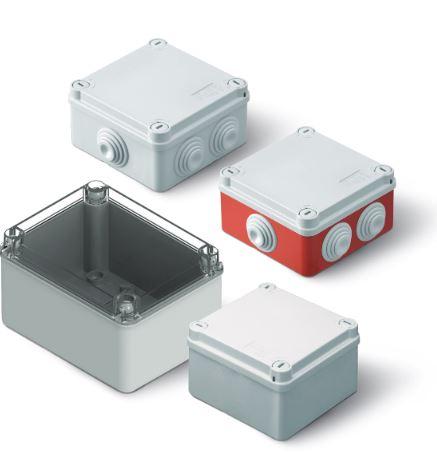 Nástěnné rozbočovací krabice Gewiss řady 44 CE