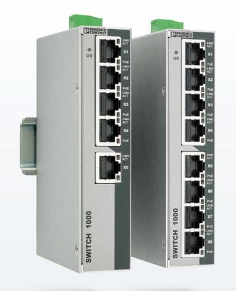 Neřízené přepínače Power over Ethernet s izolací