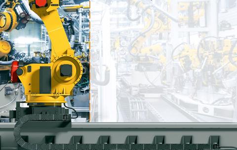 Nové flexibilní kabely pro sedmou osu robotů Fanuc