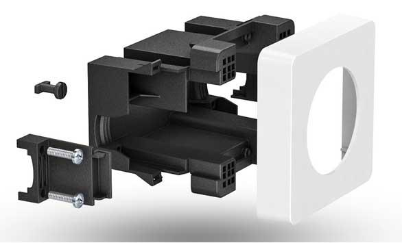 Novinka! Krabice OBO pro instalaci zařízení pro instalaci třípólové nebo pětipólové zásuvky CEE