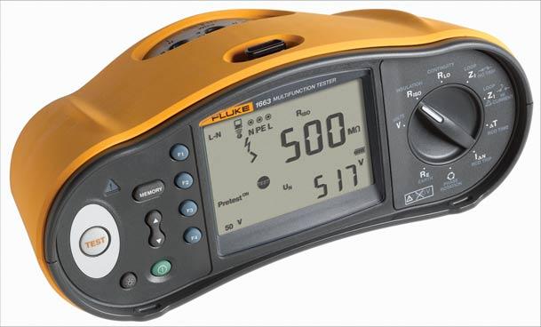 Nový multifunkční tester instalací Fluke 1664 FC