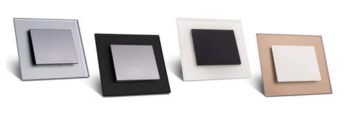 OBZOR: Nové matné skleněné vypínače Decente