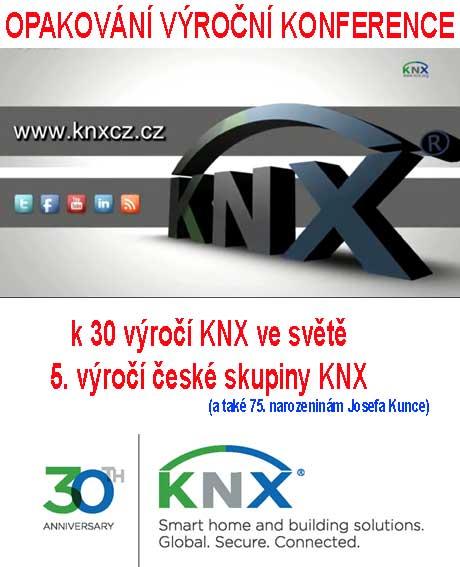 Repríza KNX výroční konference k 30. výročí KNX ve světě