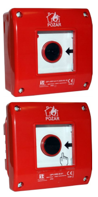 Ruční požární hlásič OP1