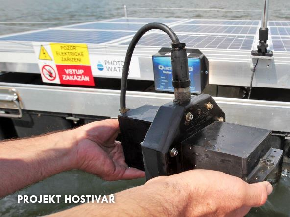 Solární ultrazvuk udržuje kvalitu vody v přehradě