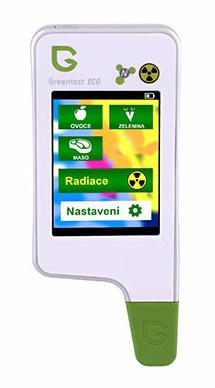 Tester na dusičnany Greentest ECO 4  s měřením radiace