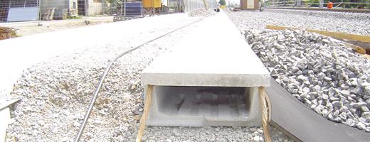 TIP na betonový kabelový žlab!