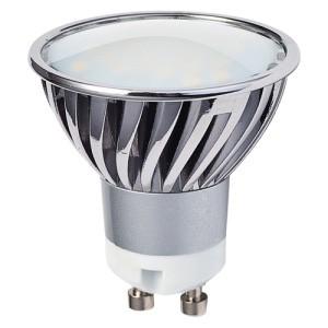 TIP na LED žárovku s paticí GU 10, neutrální bílá, 4,5W.