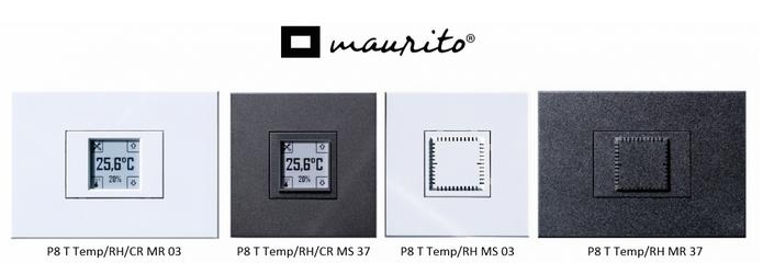 Vysílače teploty a vlhkosti Poseidon v designu Maurito