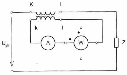 Zapojení elektrického transformátoru