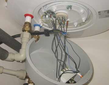 Zapojení bojleru dražice