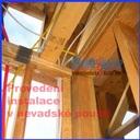 Detail dřevěné konstrukce